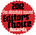 2012 Editors' Choice Award - The Absolute Sound
